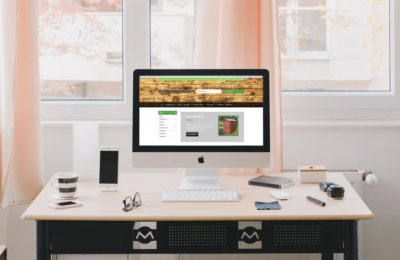 Website Design Liverpool for Merseyside Shed Centre